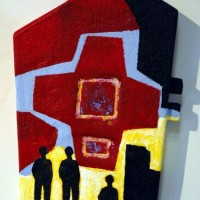 Wall Sculpture in Fiberglass
