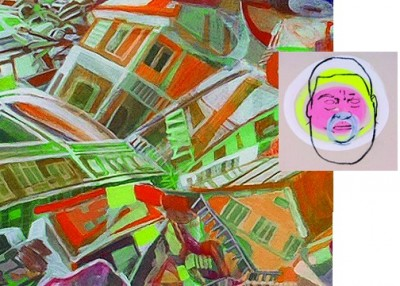 """Opening Reception for """"Face:Scapes"""" and """"Wall Sculpture in Fiberglass"""""""
