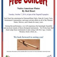 Native American Flute Concert