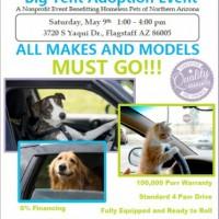 BIG TENT Pet Adoption Event