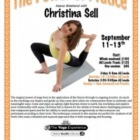 The Power of Practice: Christina Sell Asana Workshop