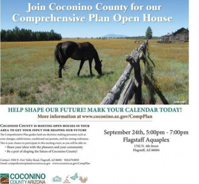 Coconino County Comprehensive Plan Open House