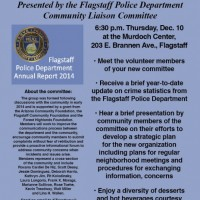 Flagstaff Police Department Community Liaison Committee - First Community Gathering