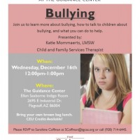Lunch and Learn Series: Bullying
