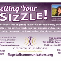 Flagstaff Communicators' 'Selling Your Sizzle!'