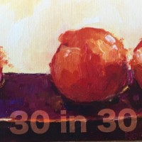 Rebekah Nordstrom's 30 Paintings in 30 Days