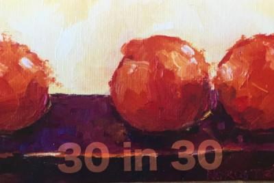 Rebekah Nordstrom's 30 Paintings in 30 Days