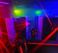 Laser Tag Grand Opening