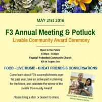 F3 Annual Meeting & Livable Community Award Ceremony