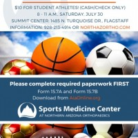 $10 Sports Physicals for 2016-2017 season