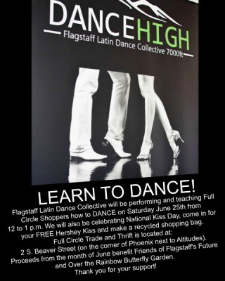 Live Performance and Dance Lesson by Flagstaff Latin Dance Collective