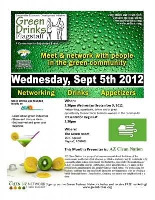 GREEN DRINKS PRESENTS: AZ Clean Nation