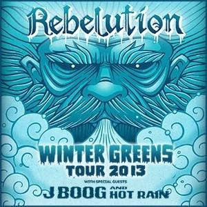 Rebelution with J Boog & Hot Rain