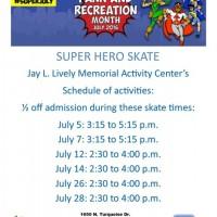 Super Hero Skate