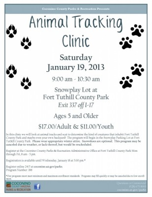 Animal Tracking Clinic