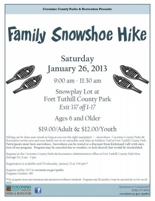 Family Snowshoe Hike