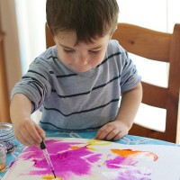 Childrens' Watercolor Class